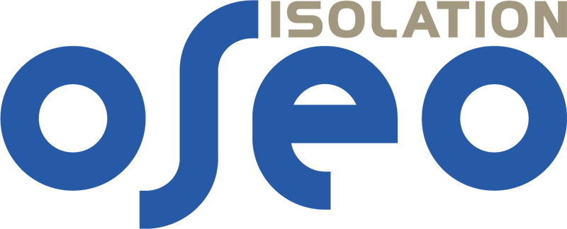 logo oseo isolation polyurethane projeté