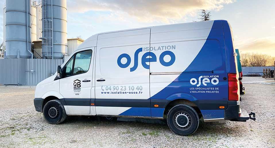 Camion Oseo isolation polyurethane